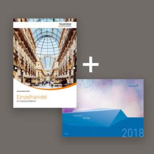 Branchenstudien: Einzelhandel in Deutschland und Vergütungsreport Retail Titelbilder