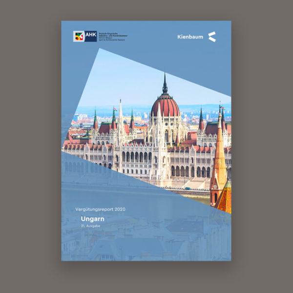 Gehälter in Ungarn Salaries in Hungary 2020 Kienbaum Studie Study Titelblatt