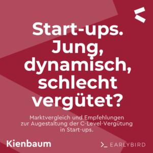 Gehalt Geschäftsführer Gründer Manager Startups Kienbaum Studie