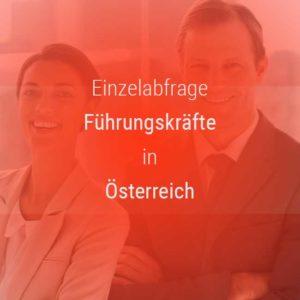 Einzelner Gehaltsvergleich - Manager / Führungskraft Österreich