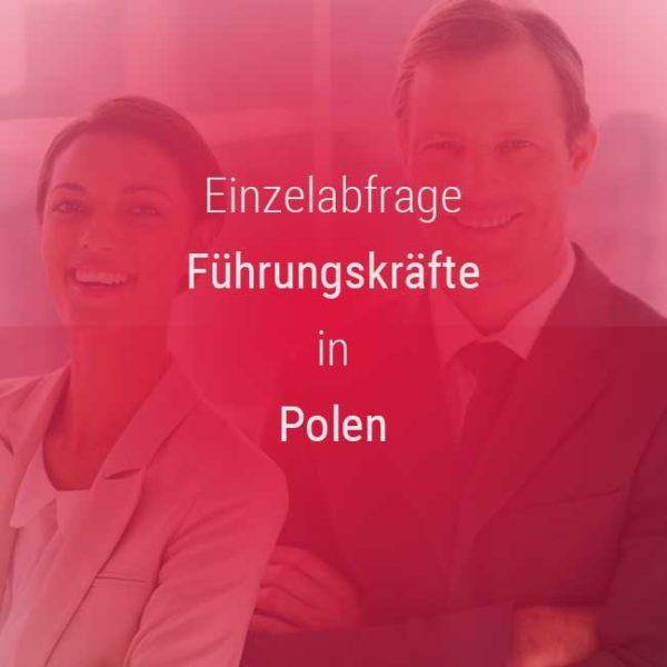 Einzelner Gehaltsvergleich - Manager / Führungskraft Polen