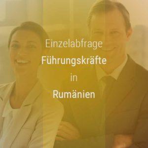 Einzelner Gehaltsvergleich - Manager / Führungskraft Rumänien