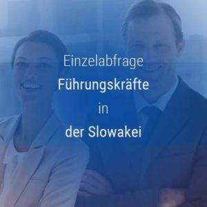 Einzelner Gehaltsvergleich - Manager / Führungskraft Slowakei