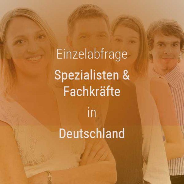 Einzelner Gehaltsvergleich - Manager / Führungskraft Deutschland