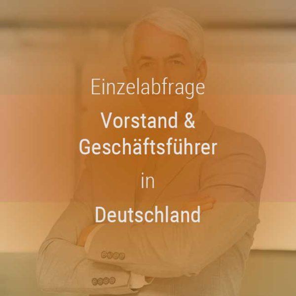Gehaltsvergleich Vorstand Geschäftsführer Deutschland