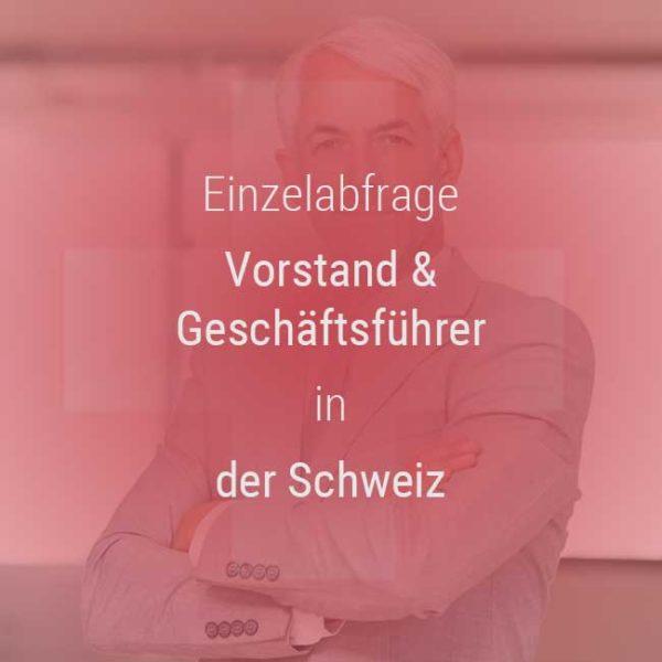 Gehaltsvergleich Geschäftsführer Vorstände Schweiz