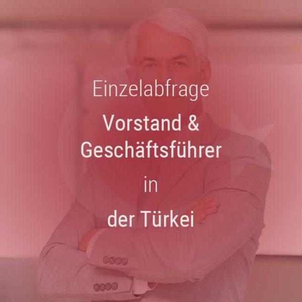 Einzelner Gehaltsvergleich - Vorstand & Geschäftsführer