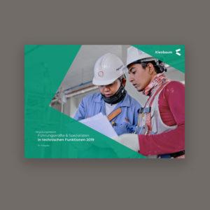 Gehalt Ingenieure & technische Berufe 2019 - Kienbaum Gehaltsreport Titelbild