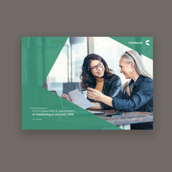 Gehalt Marketing Vertrieb 2019 - Kienbaum Gehaltsreport Titelbild