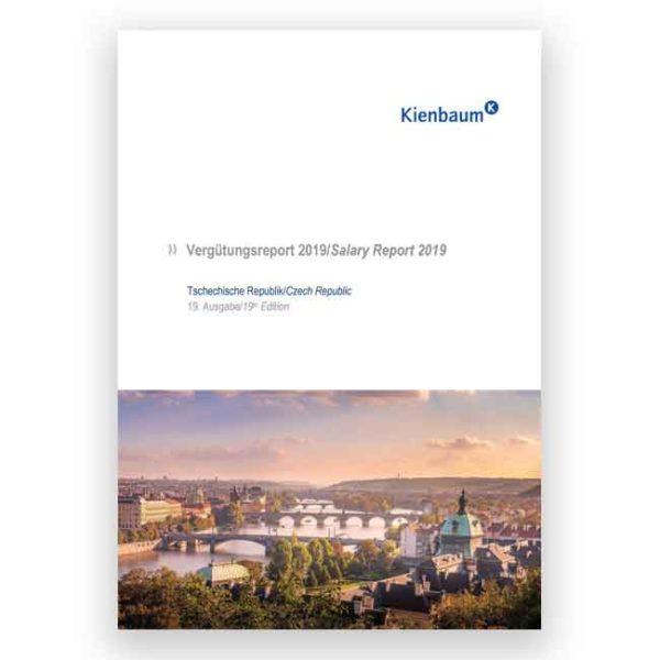 Kienbaum Vergütungsreport Tschechien 2019 Produktbild