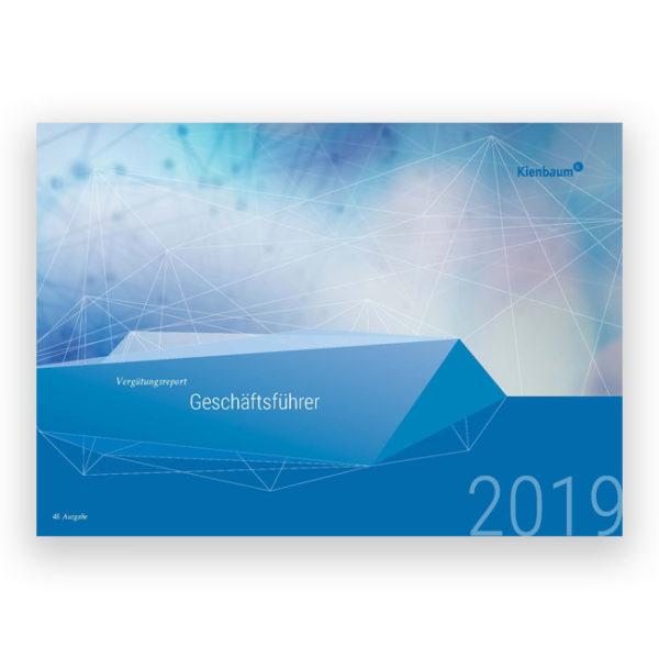 Kienbaum Gehaltsreport Geschäftsführer 2019 Titelblatt