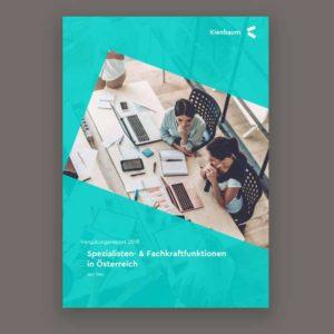 Kienbaum Vergütungsreport Spezialisten und Fachkarftfunktionen in Österreich 2019