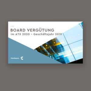 Vergütungsstudie Vorstände & Aufsichtsräte ATX 2020