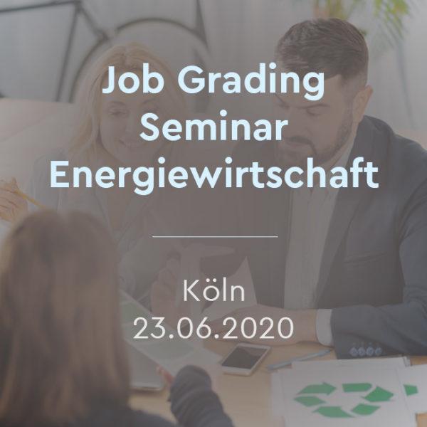 Job Grading Vergütungssystem - kostenloses Seminar für die Energiwirtschaft