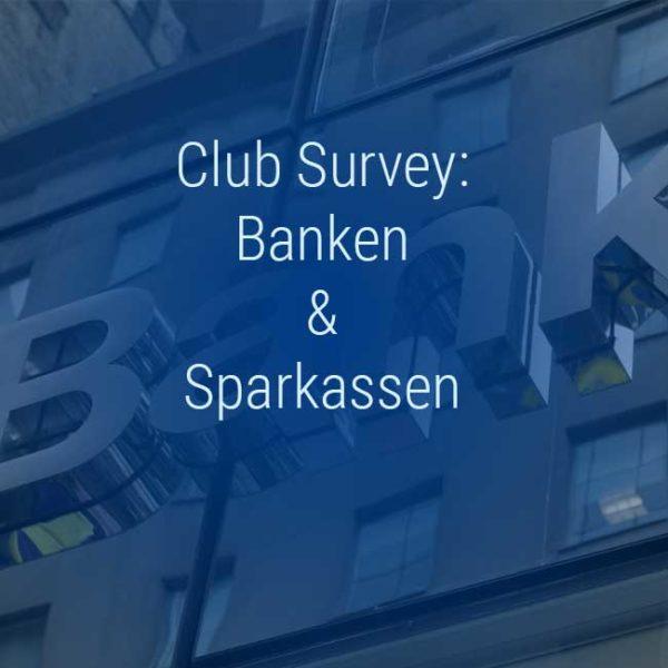 Kienbaum Club Survey Banken und Sparkassen
