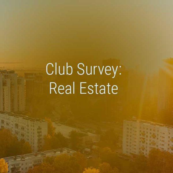 Kienbaum Club Survey Immobilienwirtschaft
