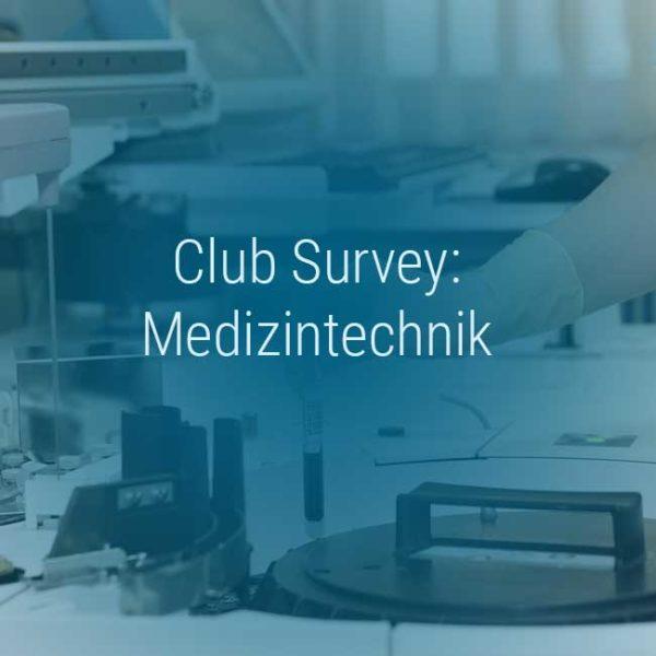 Kienbaum Club Survey Medizintechnik