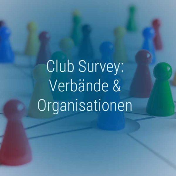 Kienbaum Club Survey Verbaende und Organisationen