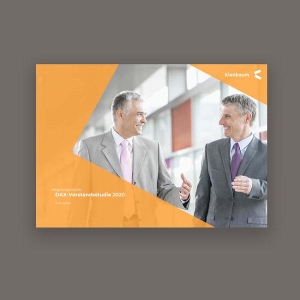 Produktbild Verguetungsstudie Vorstandsverguetung DAX 2020