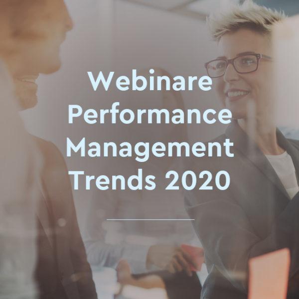 Webinar Performance Management Trends 2020