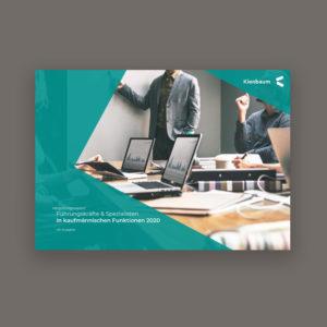 Vorbestellen - Gehaltsstudie kaufmännische Berufe: Leiter und Spezialisten 2020