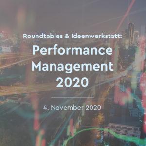 Performance Management Trends 2020 Roundtables & Ideenwerkstatt