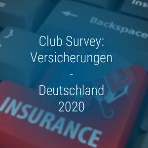 Kienbaum Club Survey Versicherungen