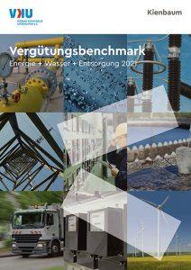 Deckblatt Vergütungsbenchmark Energiewirtschaft, Entsorgungsunternehmen und Wasserwirtschaft 2021
