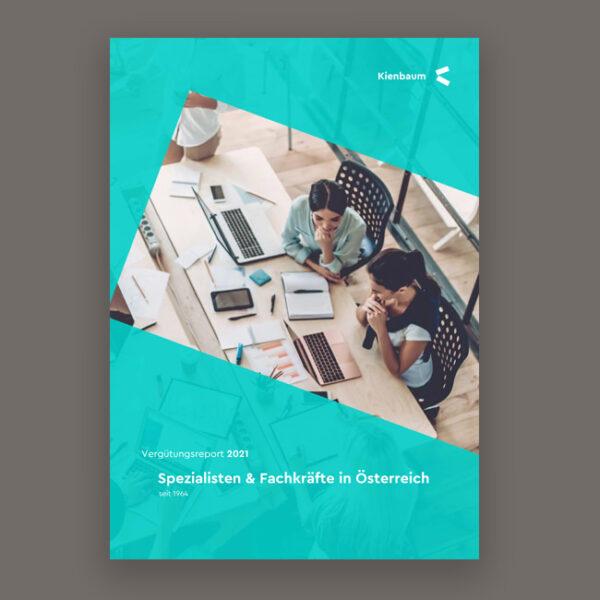 Kienbaum Vergütungsreport 2021: Spezialisten und Fachkräfte in Österreich