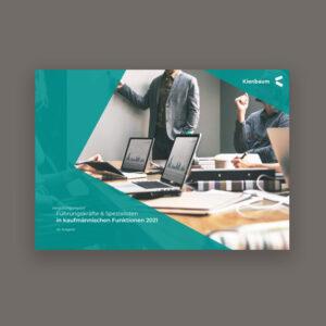 Vergütungsreport der Führungskräfte & Spezialisten in kaufmännischen Funktionen 2021